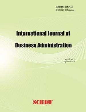 International Journal of Business Administration