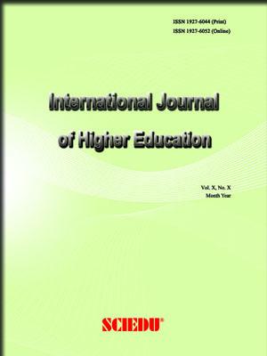 International Journal Of Higher Education
